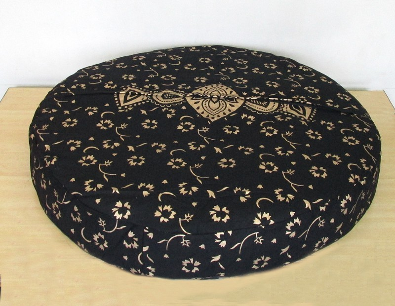 Black gold new pillow cover p4