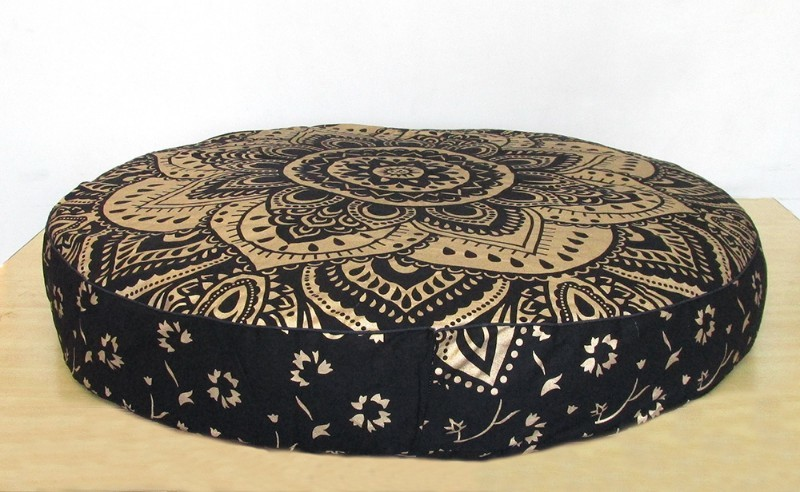 Black gold new pillow cover p2