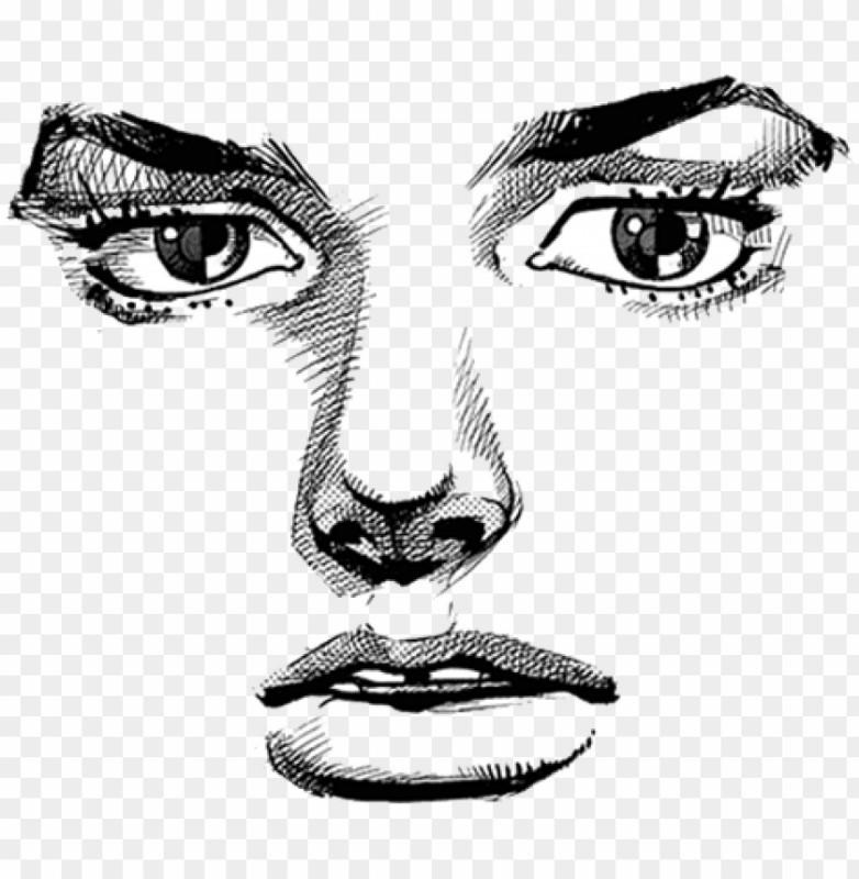 6085604 jojo face transparent png image with transparent background toppng transparent jojo 840 859 preview